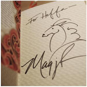 Maggie-Stiefvater-Autogramm